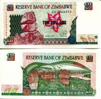 10 долларов Зимбабве 1997 год