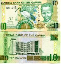 10 даласи Гамбия 2012 год
