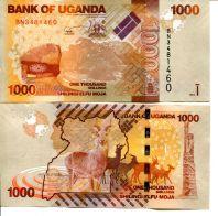 1000 шиллингов Уганда 2013 год