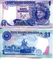1 ринггит Малайзия 1989 год