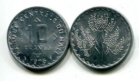 10 франков Мали 1976 год