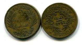 2 франка Тунис
