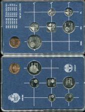 Набор монет Арубы 1986 год