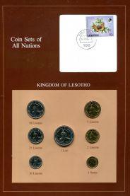 Набор монет Лесото 1979-1983 год