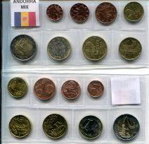 Набор евро Андорры микс