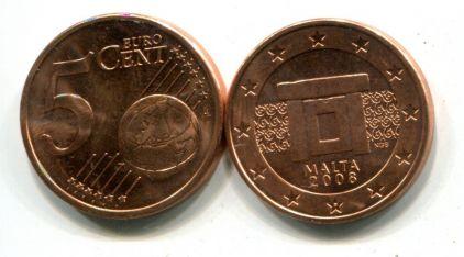 5 евроцентов Мальта 2008 год