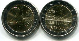 2 евро мост Люксембург 2016 год