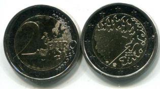 2 евро Эйно Лейно Финляндия 2016 год