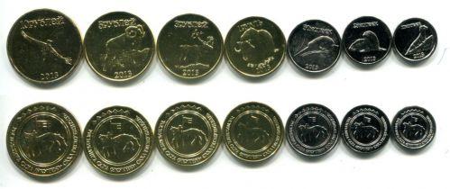 Набор монет Республики Саха Якутия 2013 год