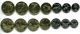 Набор монет Ингушетии 2013 год