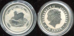 50 центов год козы Австралия 2003