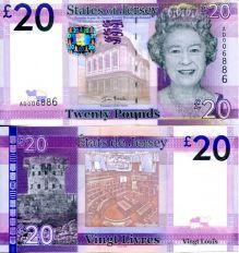 20 фунтов Джерси 2010 год