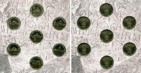 Набор монет храмы Абхазии 2016 год