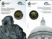 2 евро Донате Браманте Сан-Марино 2014 год