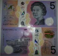 5 долларов анимированная Австралия