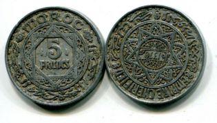5 франков Марокко 1951 год