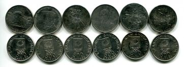 Набор монет Греции Олимпиада 2000 год