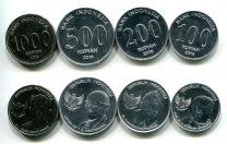 Набор монет Индонезии 2016 год новый тип
