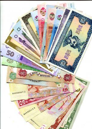 Полный набор банкнот Украины - 20 лет денежной реформы