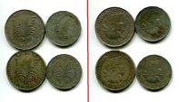 Набор монет Гваделупы 1903 и 1921 год