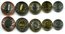Набор Анголы из 5 монет