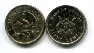 50 центов Уганда 1976 год
