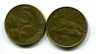 5 марок Финляндия тюлень
