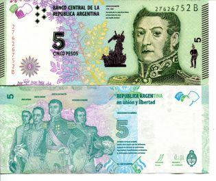 5 песо Аргентина