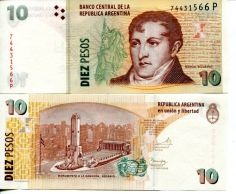 10 песо Аргентина