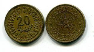 20 миллимов Тунис