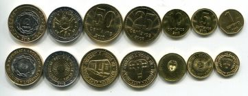 Набор монет Аргентины микс
