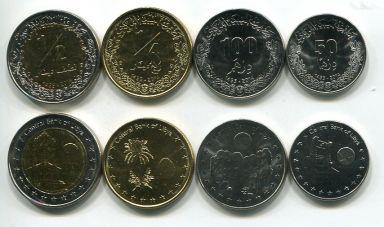 Набор монет Ливии 2014 год