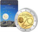 2 евро 20 лет вступлению в совет Европы Андорра 2014 год