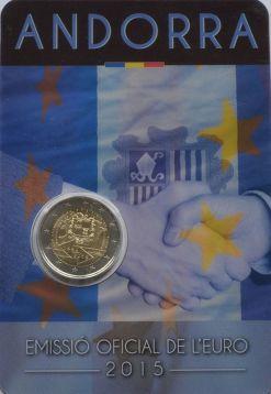 2 евро таможенное соглашение Андорра 2015 год