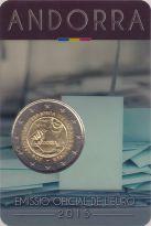 2 евро избирательное право Андорра 2015 год
