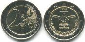 2 евро Декларация Прав Человека Бельгия 2008 год