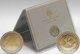 2 евро Швейцарская гвардия Ватикан 2006 год