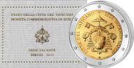 2 евро Вакантный престол Ватикан 2013 год