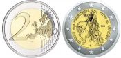 2 евро Святой год милосердия Ватикан 2016 год