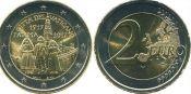 2 евро явление Девы Марии Ватикан 2017 год