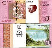 10 кванз Ангола 2012 год