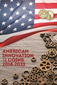 Альбом для монет 1 доллар США инновации 2018-2032 год